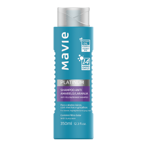 Shampoo Anti-amarelo/Laranja Platinum 350ml