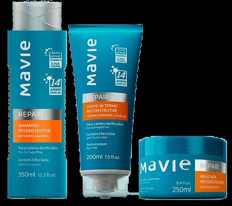 Comprar Shampoo Reparador Reconstrutor Mavie Cosméticos