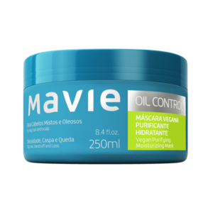 Máscara Vegana Oil Control - Mavie