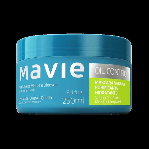 Máscara Vegana Oil Control - Mavie